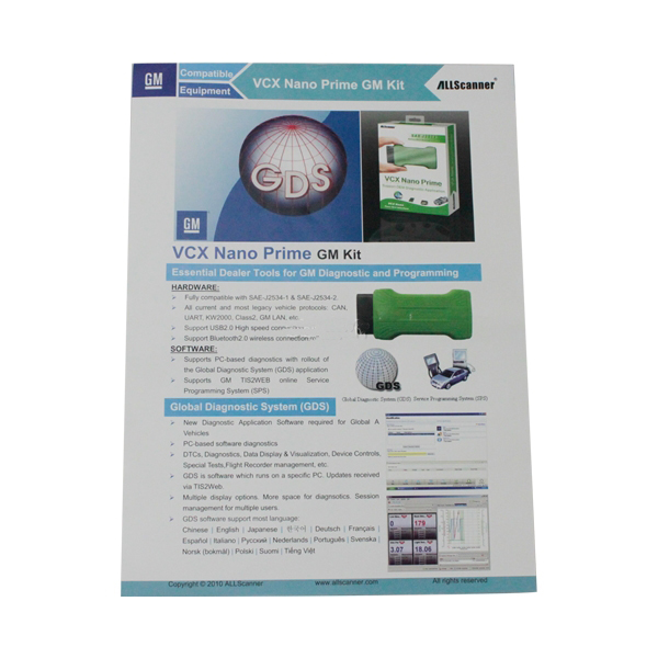 New Super GM Mini MDI,Auto Scanner,OBDII Diagnostic ScanTool