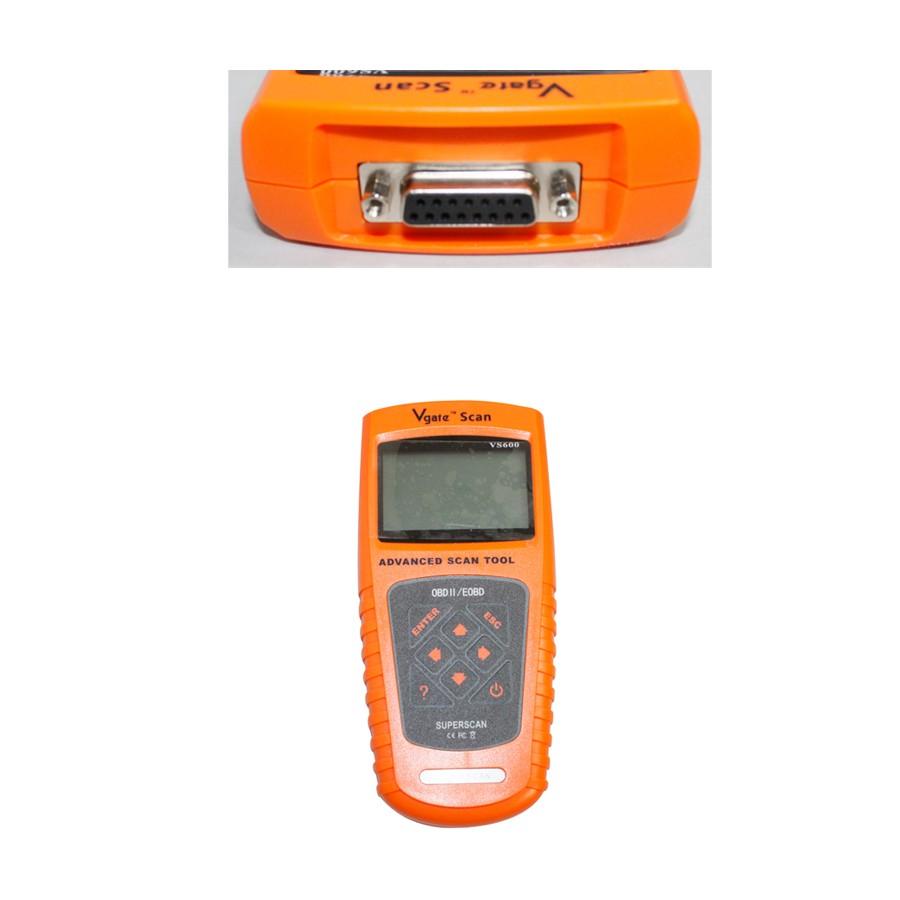 Vs600 Vgatescan Advanced Obdii  Eobd Scanner Obdii Scanner