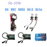 50W 55W H4 9004 9007 H13 Slim Xenon Bi-xenon Hi/Lo HID KIT Dual 3000K